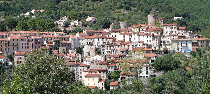 Art and traditional spas in southern France
