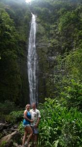 waterfall W