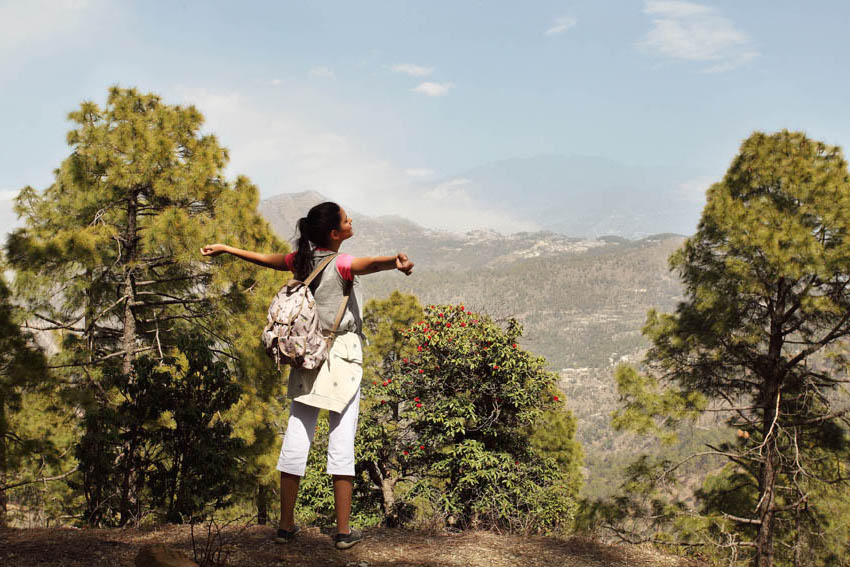 Ananda-trek-view