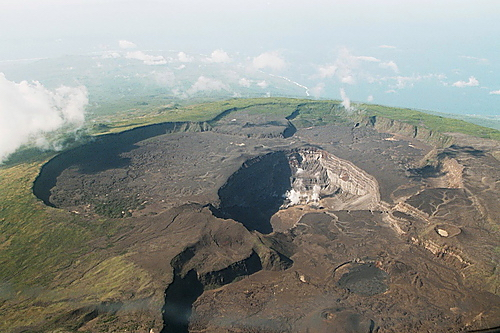 Volcanic crater, Comoros Islands