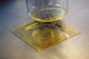ila precious oils and sri symbol