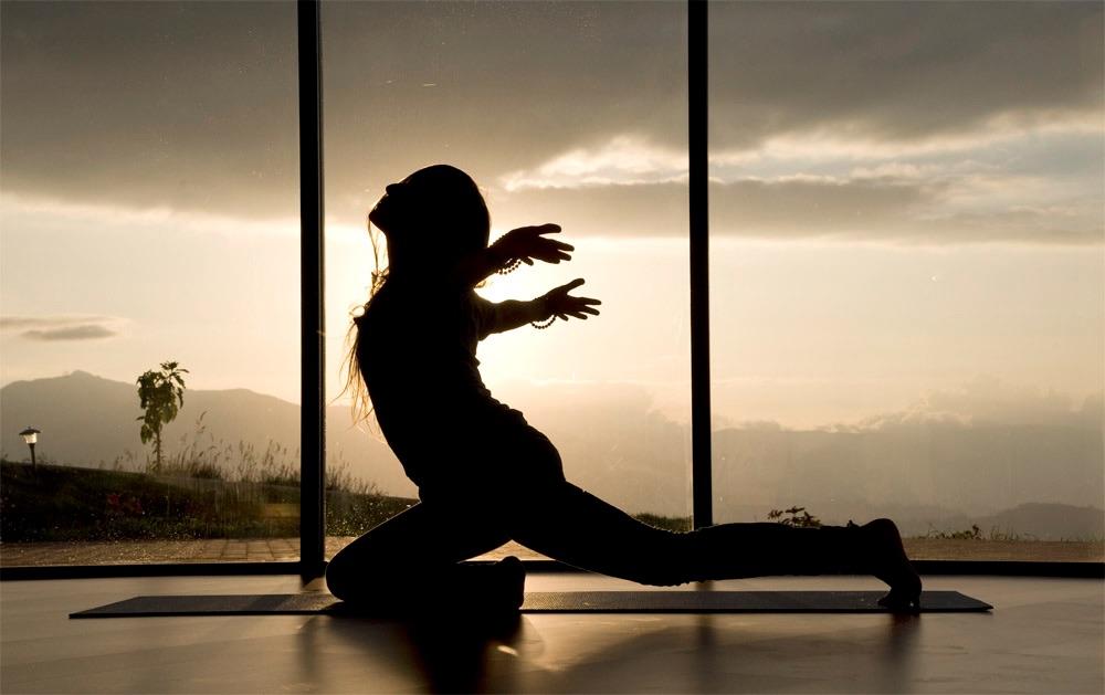 Yoga at SachaJi