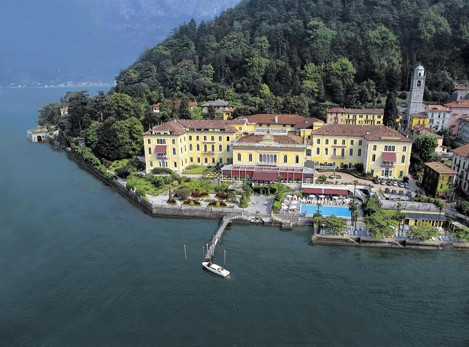 erial view of Villa Serbelloni