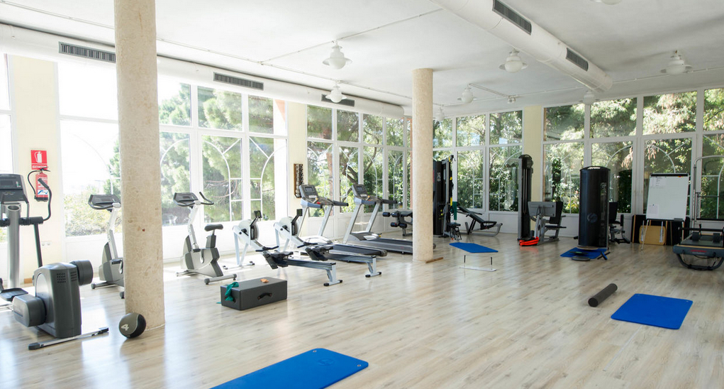 Gym at Thalasso Hotel El Palasiet