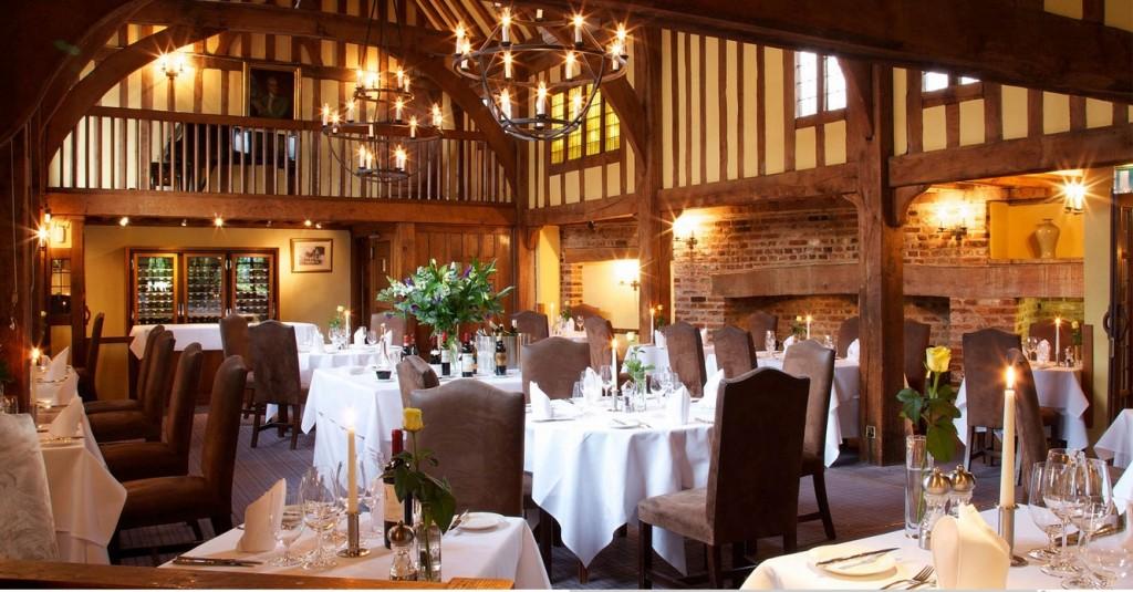 Galleried restaurant, Swan at Lavenham