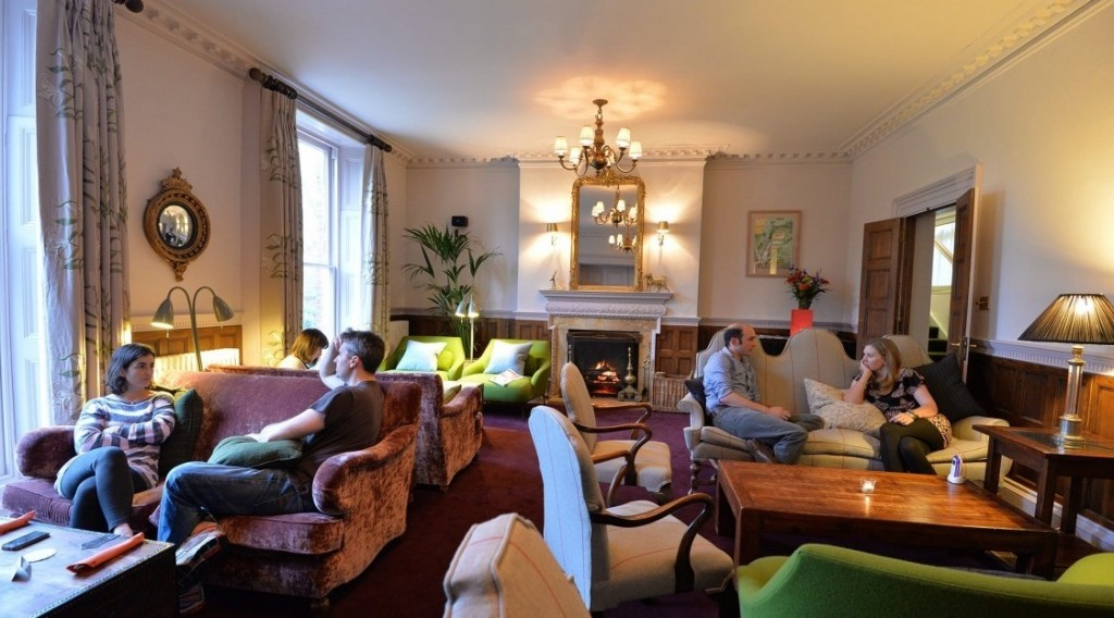 Lounge at New Park Manor, New Forest