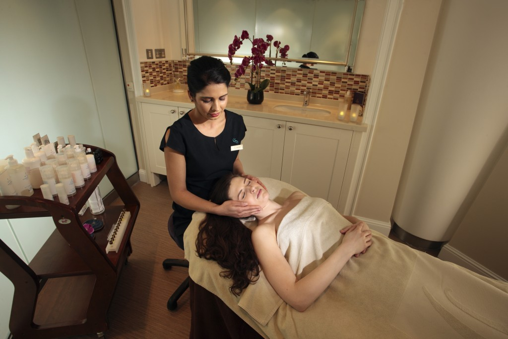 Facial in Source treatment rooms, Thermae Bath Spa
