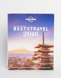 Cover ofLonely Planet's Best in Travel 2016 by