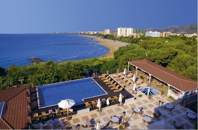 View of Benicassim from Thalassa Hotel