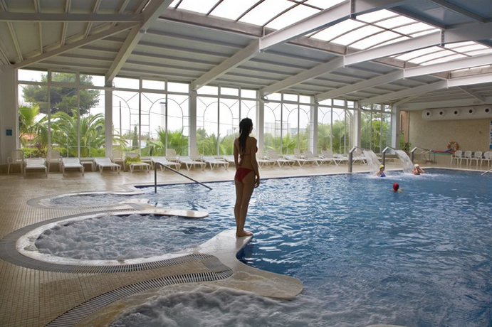 Thalsso pool at El Palasiet, Benicassim