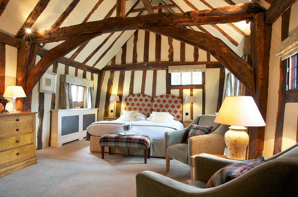 Bedroom, Swan at Lavenham