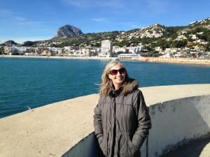 Xabia port, winter day