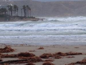 Winter seas in Xabia, Spain