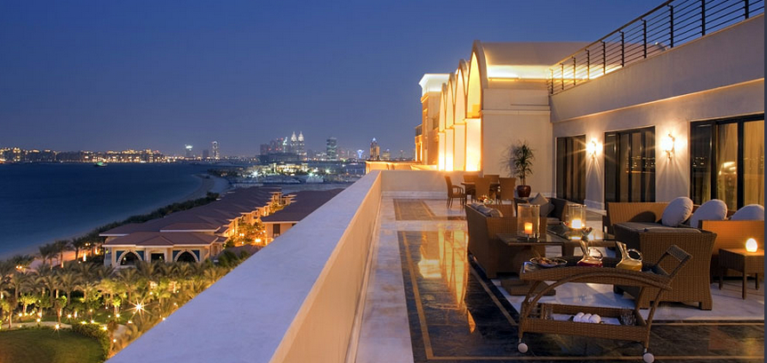 Evening dining at Jumeirah Zabal Saray