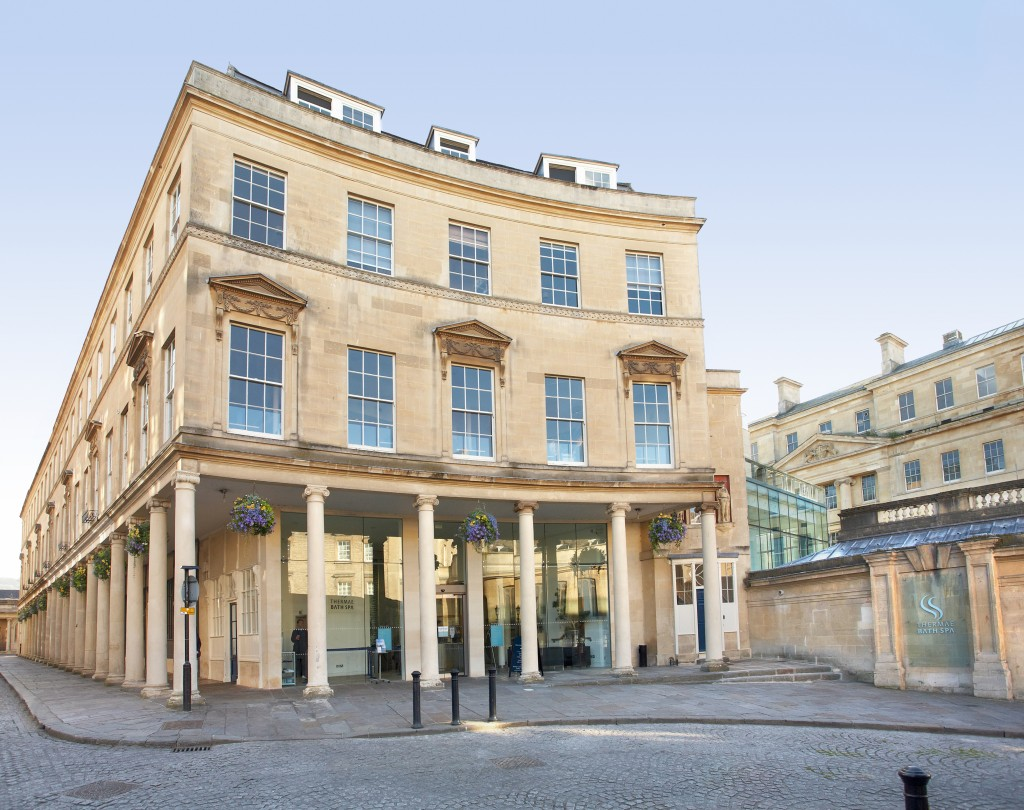 Entrance to Thermae Bath Spa