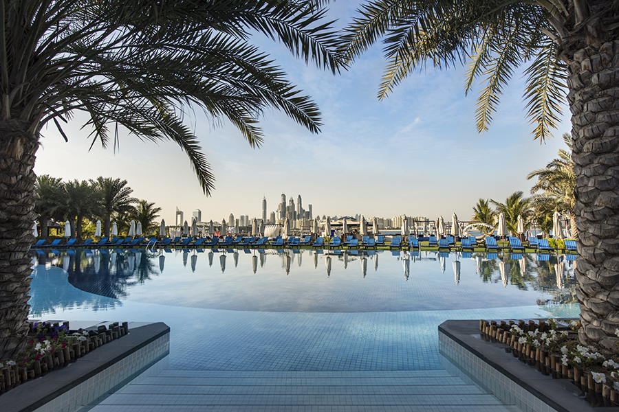 Pool at Rixos the Palm, Dubai