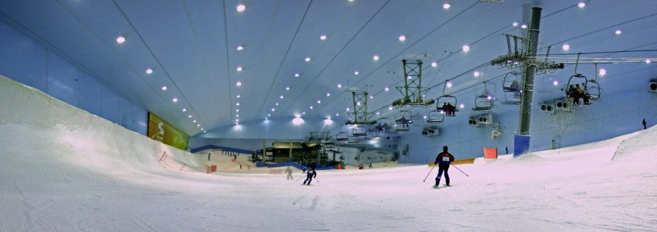 Dubai's  luxury ski resort